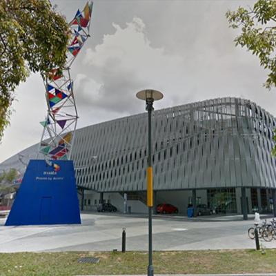 Axiata Arena Courtyard