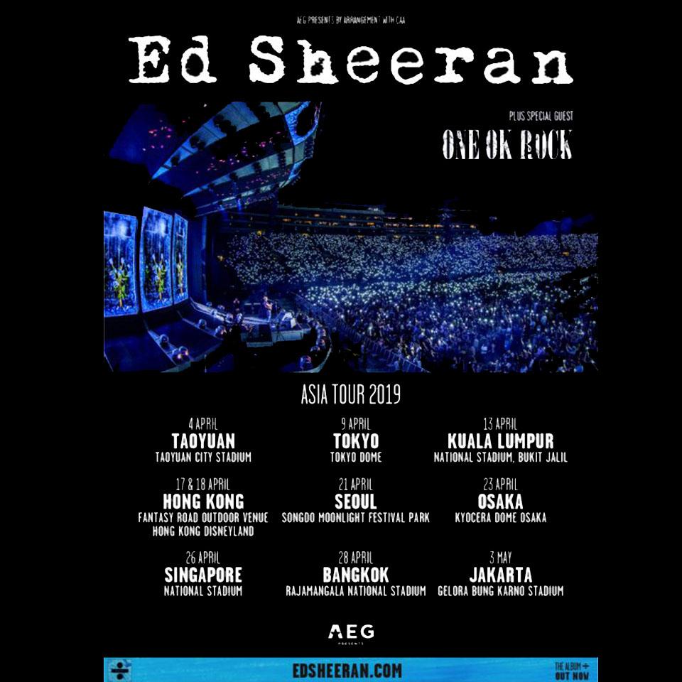 Ed Sheeran concert 2019