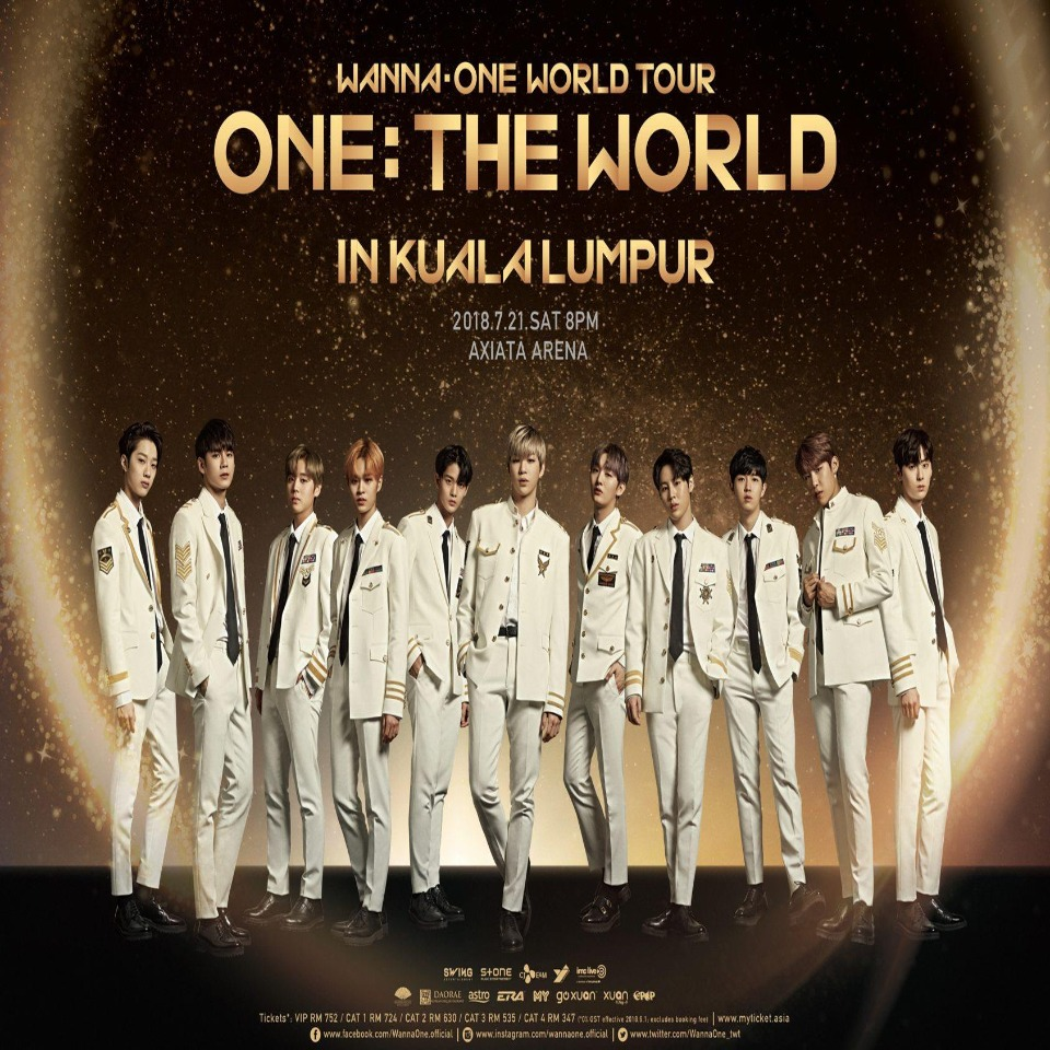 WANNA ONE World Tour: The World in KL